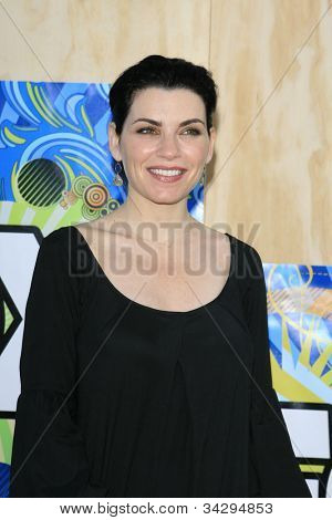 SANTA MONICA, CA - JUL 23: Julianna Margulies Fox Summer TCA Press Tour All Star Party at the Santa Monica Pier, Santa Monica, California on July 23, 2007