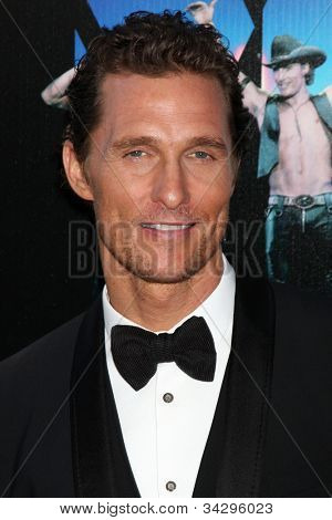 LOS ANGELES - JUN 24:  Matthew McConaughey arrives at the