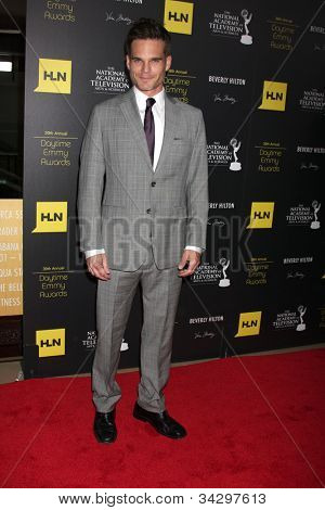 LOS ANGELES - JUN 23:  Greg Rikaart arrives at the 2012 Daytime Emmy Awards at Beverly Hilton Hotel on June 23, 2012 in Beverly Hills, CA