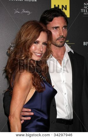 LOS ANGELES - JUN 23:  Tracey E Bregman. guest arrives at the 2012 Daytime Emmy Awards at Beverly Hilton Hotel on June 23, 2012 in Beverly Hills, CA