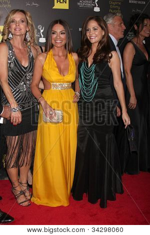 LOS ANGELES - JUN 23:  Nick Coster, ?, Lilly Melger, Jade Harlow arrives at the 2012 Daytime Emmy Awards at Beverly Hilton Hotel on June 23, 2012 in Beverly Hills, CA
