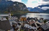 Beautiful Hallstatt Village (austria) poster