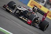 VALENCIA, SPAIN - JUNE 22: Kimi Raikkonen in the Formula 1 Grand Prix of Europe, Valencia Street Cir