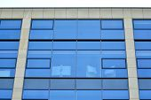 Office Building. Business Building. Modern Building. Exterior Of Building. poster