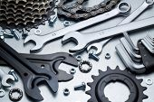 image of spare  - Bike repairing - JPG