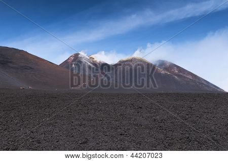 Peak Of Mount Etna