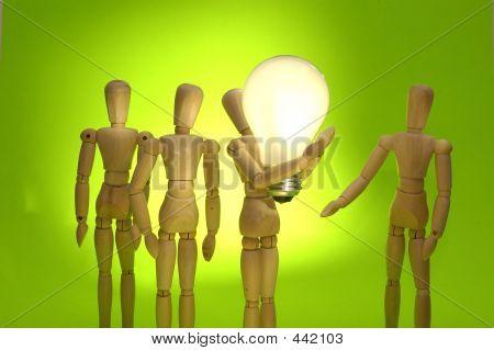 Mannequin Team With Idea