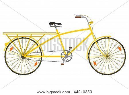 Long tail bike.