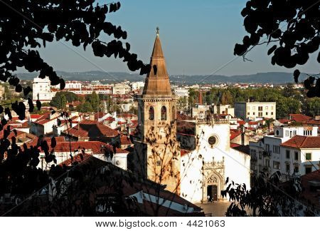 Portugal, Tomar; View Of The City