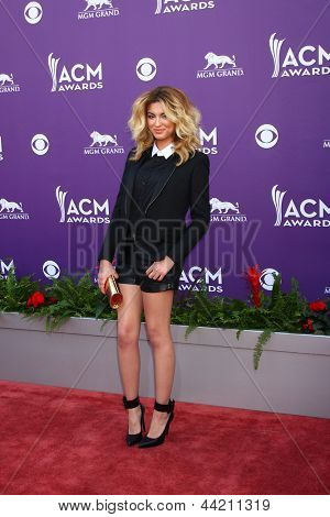 LAS VEGAS - MAR 7:  Tori Kelley arrives at the 2013 Academy of Country Music Awards at the MGM Grand Garden Arena on March 7, 2013 in Las Vegas, NV