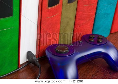 Books And Gamepad