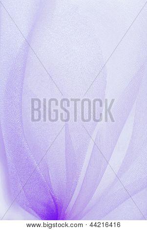 textura de la tela de organza violeta
