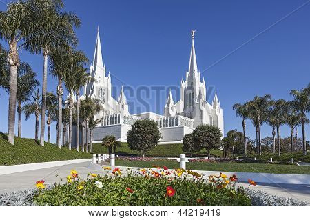 Mormon Temple - The San Diego California Temple