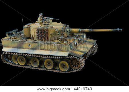 German heavy tank of World War II model