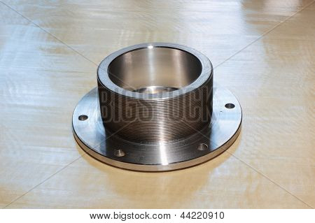 Nut With Flange.