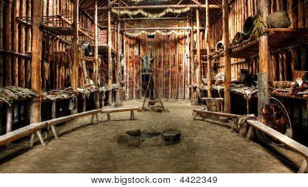 Native Indian Hut