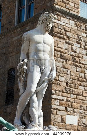 Florence Piazza Signoria - Sculpture Hercules and Cacus