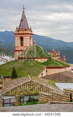 Zahara de la Sierra church, Cadiz