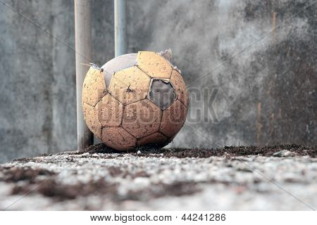 Abandoned Soccer Ball