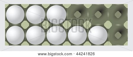 Incomplete Egg Tray