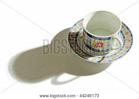 Shadow Of A Tea Cup.