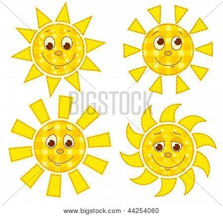Patchwork suns