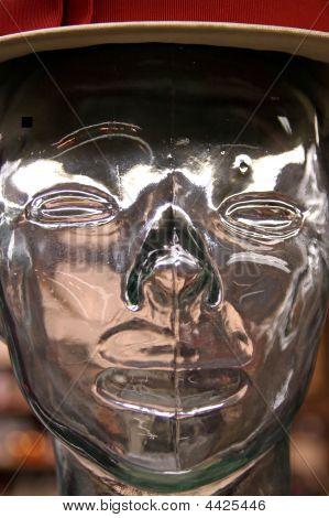 Mannequin Head Close-up