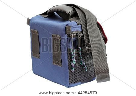 Blue Camera Bag