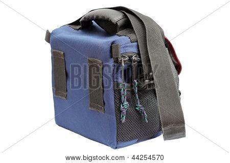 Bolso de la cámara azul