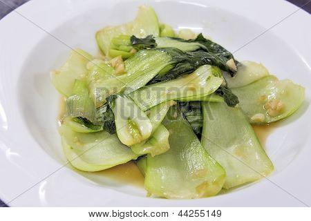 Chinese Bok Choy Stir Fry Dish