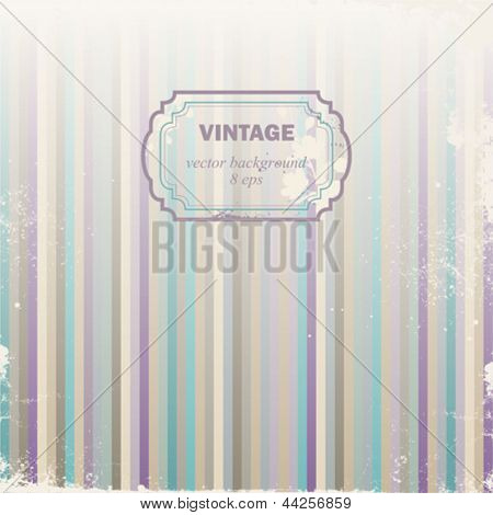Made old vintage vector background.