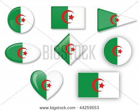 Algerische Flagge