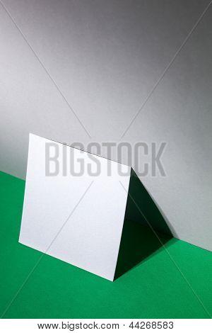 blank near wall