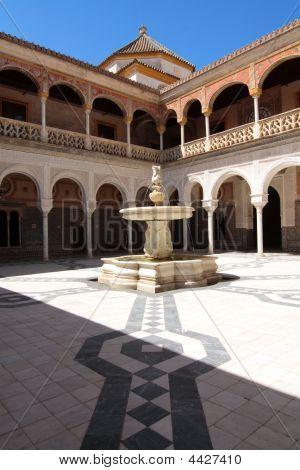 Fountain, Casa De Pilatos