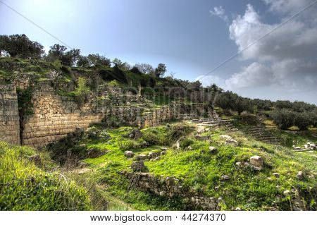 Sebastia Archeology Ancient Ruins