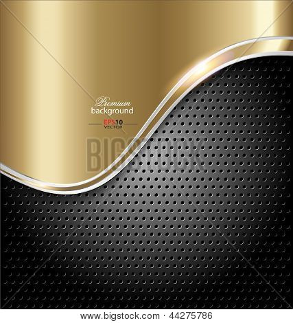 Abstract art vector frame background