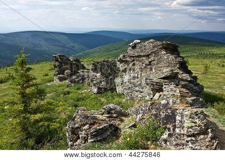 Rocky Alaskan Landscape