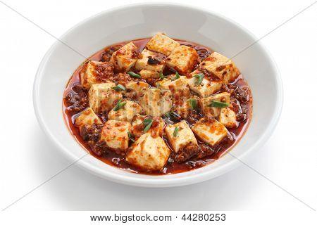 sichuan mapo tofu, chinese food
