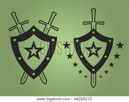 Military style emblems