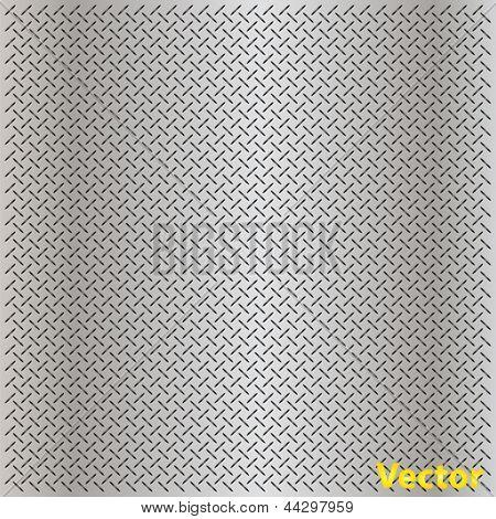 Vector eps concepto conceptual gris metal el acero inoxidable aluminio perforada patrón textura malla ba