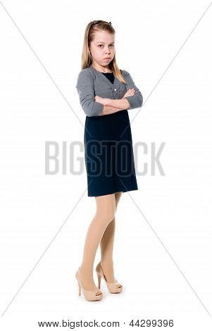Miniature Working Girl.