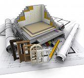 Technical details on home construction