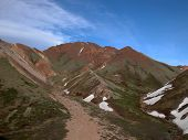 stock photo of denali national park  - Although the American Southwest is famous for its red rock peaks - JPG