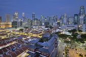 image of cbd  - Singapore City Central Business District  - JPG