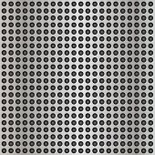 stock photo of metal grate  - High resolution concept conceptual gray metal stainless steel aluminum perforated pattern texture mesh background - JPG