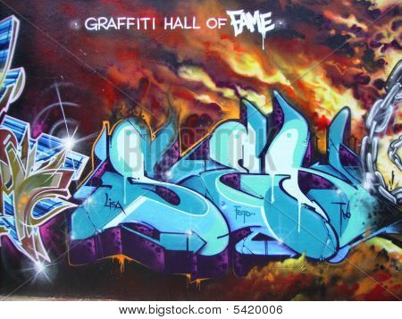 New York Graffiti Hall Of Fame
