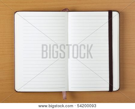 Open Notebook or Journal