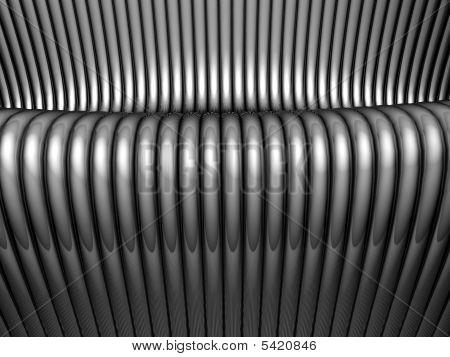 Abstrakte Stahlrohr Silber Hintergrund