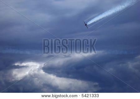 在云层中的一种方法