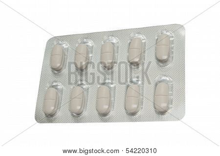 Pills In Single Blister Sidewards
